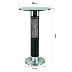 Incalzitor terasa Scientec H110 cm, 1600 W