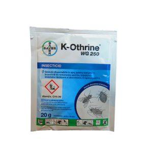 Insecticid K-Othrine WG 250, 20 g (cea mai buna solutie pentru gandacii de bucatarie care poate fi aplicata cu pompa)